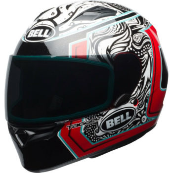 bell qualifier street helmet tagger gloss white red black splice fl  30607.1505411396