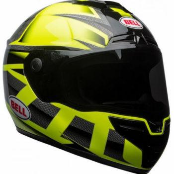 bell str predator hi viz gloss helmet green black 8 1000x1000