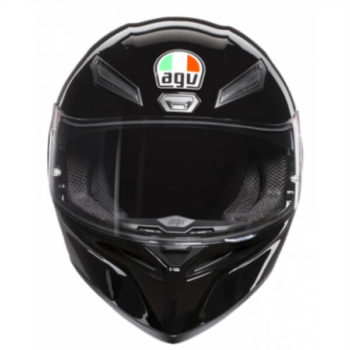 AGV K 1 Solid Gloss Black Full Face Helmet 2