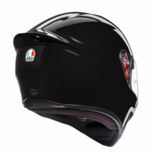 AGV K 1 Solid Gloss Black Full Face Helmet 3