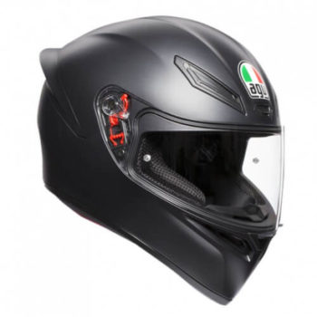 AGV K 1 Solid Matt Black Full Face Helmet