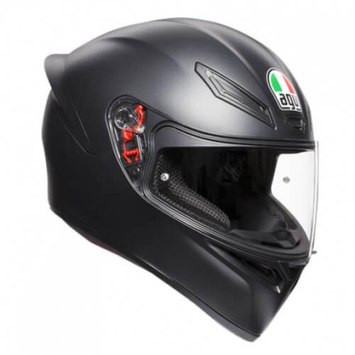 AGV K 1 Solid Matt Black Full Face Helmet