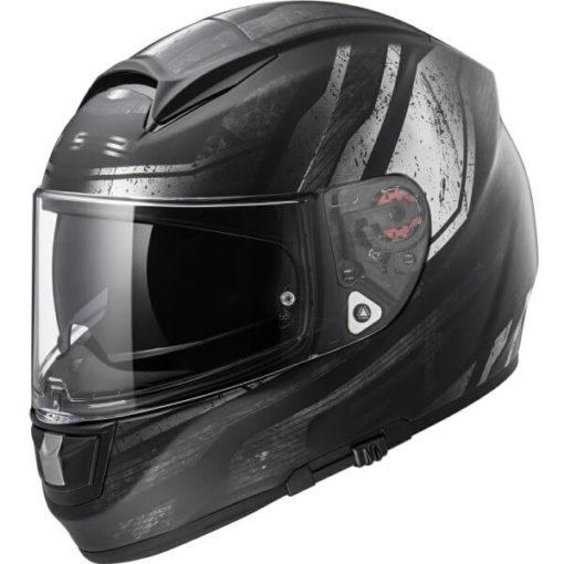 LS2 FF397 VECTOR RAZOR MATT BLACK Full Face Helmet side