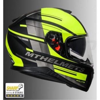 32f627fb Quick View. Sold Out. MT Thunder 3 SV Pitlane Matt Black Grey Fluorescent  Yellow Full Face Helmet