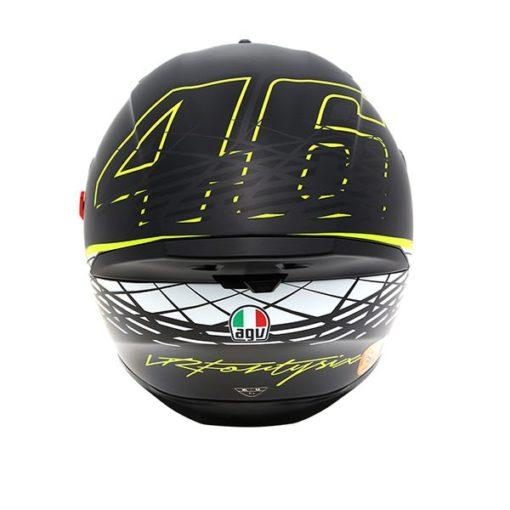 AGV K 5 S Top Matt Black Thorn Plk Full Face Helmet back