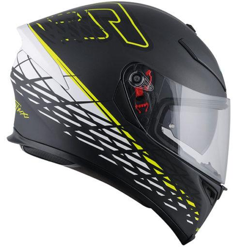 AGV K 5 S Top Matt Black Thorn Plk Full Face Helmet side 2
