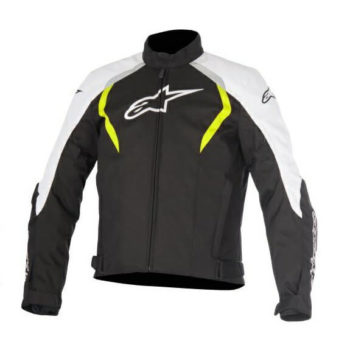 Alpinestars Alux Waterproof Black White Yellow Jacket 1
