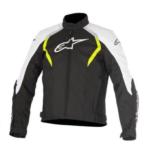 Alpinestars Alux Waterproof Black White Yellow Jacket 1
