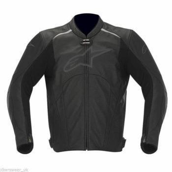 Alpinestars Avant Leather Black Riding Jackets