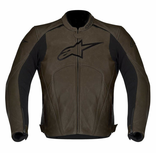 Alpinestars Avant Leather Brown Riding Jackets