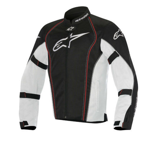 Alpinestars Bonneville Air White Black Red Riding Jacket