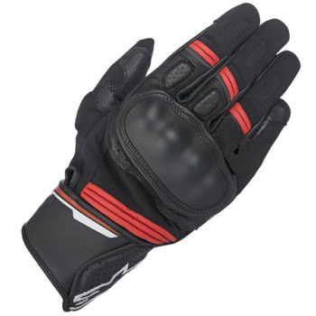 Alpinestars Booster Black Red Riding Gloves2