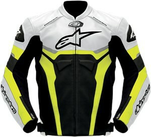 Alpinestars Celer Leather Black White Yellow Jacket1