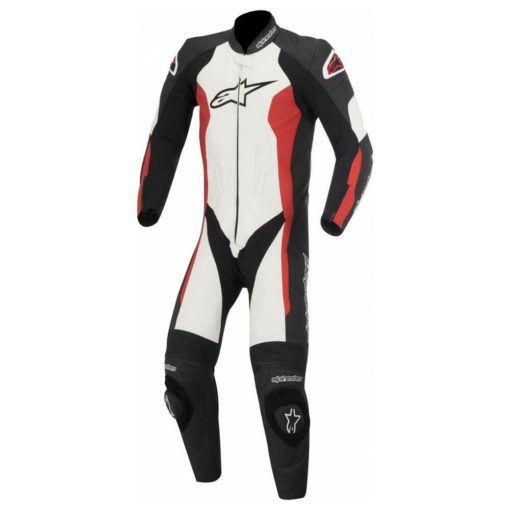 Alpinestars Challenger Leather Black White Red Suit