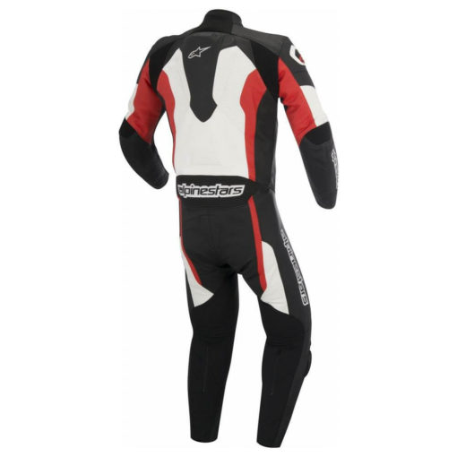 Alpinestars Challenger Leather Black White Red Suit1