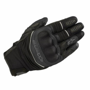 Alpinestars Crosser Air Touring Black Riding Gloves1