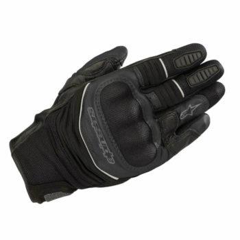 Alpinestars Crosser Air Touring Black Riding Gloves1