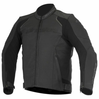 Alpinestars Devon Leather Black Riding Jacket