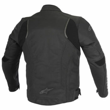 Alpinestars Devon Leather Black Riding Jacket1