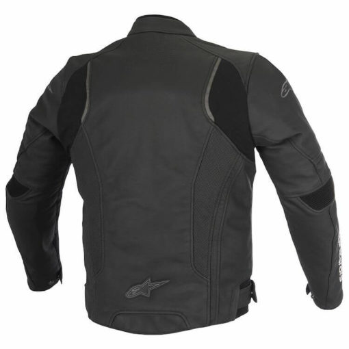 Alpinestars Devon Leather Black Riding Jacket1