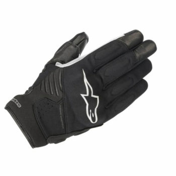 Alpinestars Faster Black White Riding Gloves