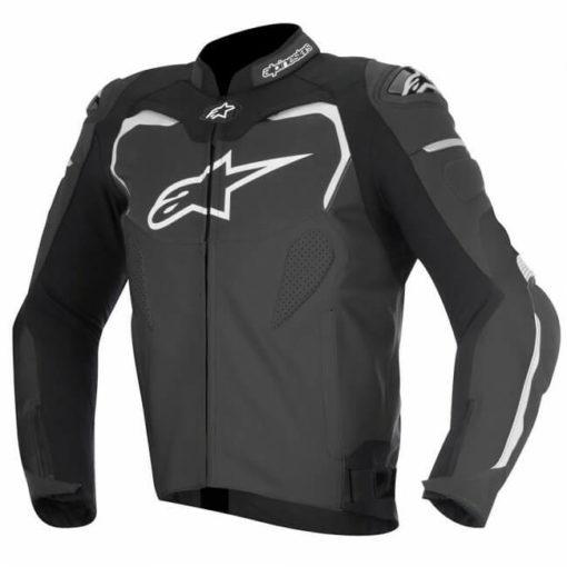 Alpinestars GP Pro Leather Black Riding Jacket 1