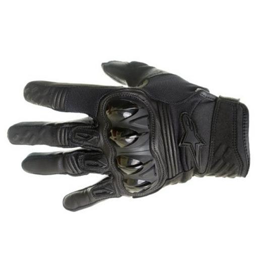 Alpinestars Megawatt Hard Knuckle Black Riding Gloves