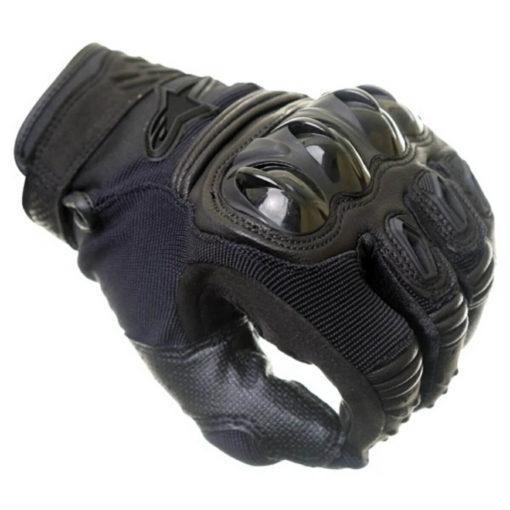 Alpinestars Megawatt Hard Knuckle Black Riding Gloves2