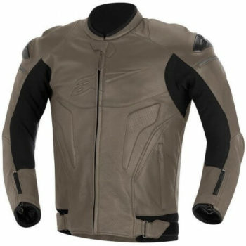 Alpinestars Phantom Leather Pyrite Riding Jacket