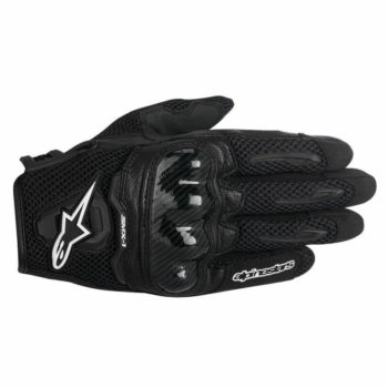 Alpinestars SMX 1 Air Carbon Black Riding Gloves