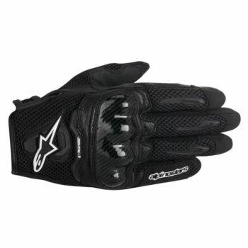 Alpinestars SMX 1 Air Carbon Black Riding Gloves