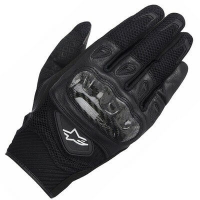 Alpinestars SMX 2 Air Carbon V2 Black Riding Gloves 1
