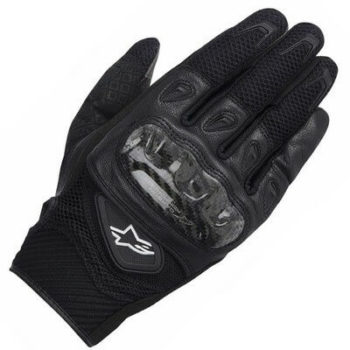 Alpinestars SMX 2 Air Carbon V2 Black Riding Gloves