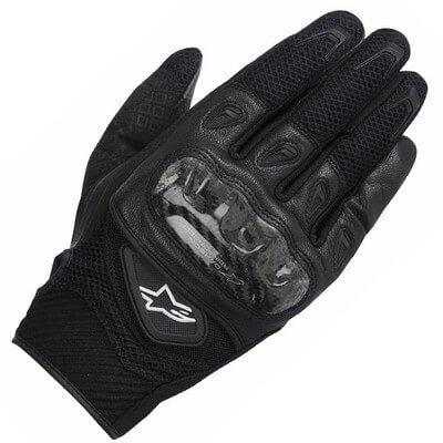 Alpinestars SMX 2 Air Carbon V2 Black Riding Gloves