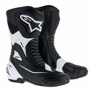 Alpinestars SMX S Black White Boots