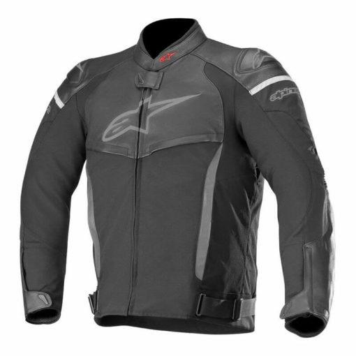 Alpinestars SPX Black Leather Riding Jackets 1