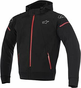 Alpinestars Sektor Tech Black Red Hoodie 1