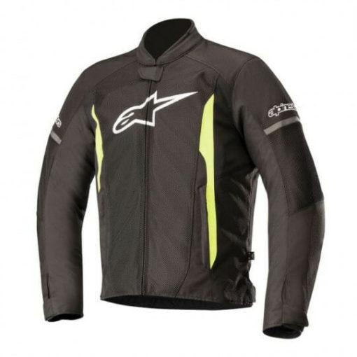 Alpinestars T Faster Air Black Flourescent Yellow Jacket