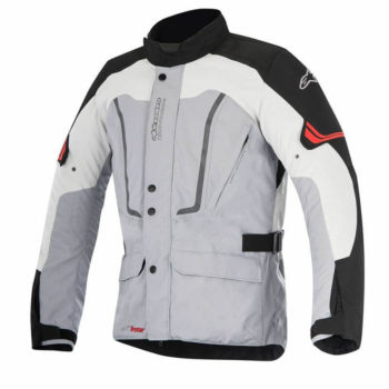 Alpinestars Vence Drystar Black Grey Riding Jacket