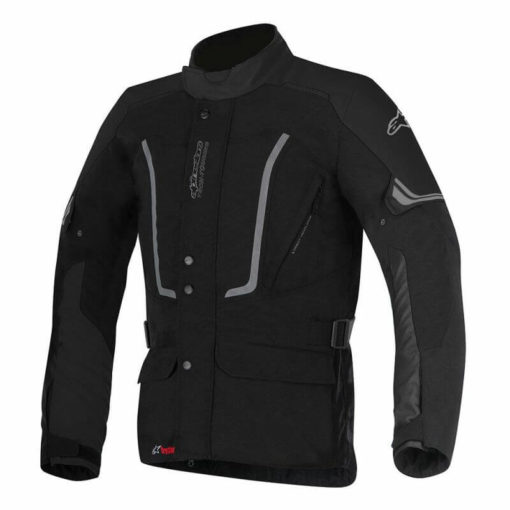 Alpinestars Vence Drystar Black Riding Jacket