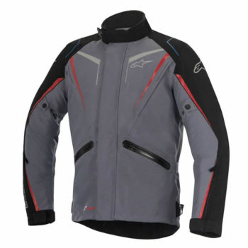 Alpinestars Yokohama Drystar Dark Grey Black Red Jackets