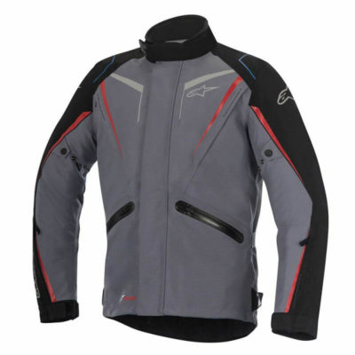 Alpinestars Yokohama Drystar Dark Grey Black Red Jackets