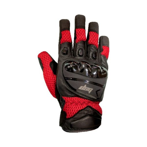 DSG AIRE GLOVES BLACK RED 2