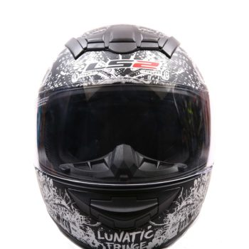 LS2 FF352 Lunatic Matt Black Silver Full Face Helmet 3