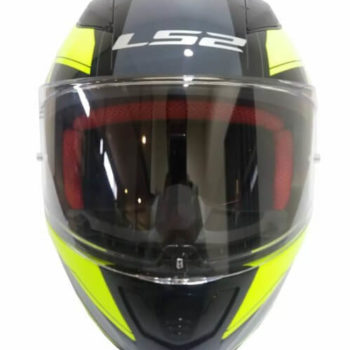 LS2 FF353 Rapid Infinity Matt Black Grey Fluorescent Yellow Full Face Helmet 2