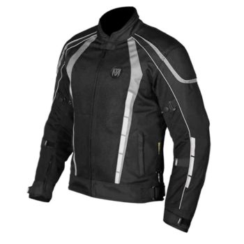 MOTOTORQUE BLADE L2 BLACK GREY RIDING JACKET1