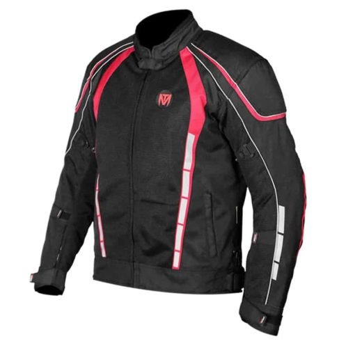 MOTOTORQUE BLADE L2 RED RIDING JACKET1