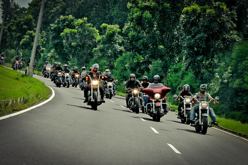 Riding to India Bike Week