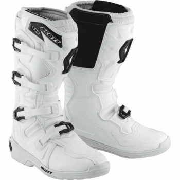Scott 350 Motocross MX White boots