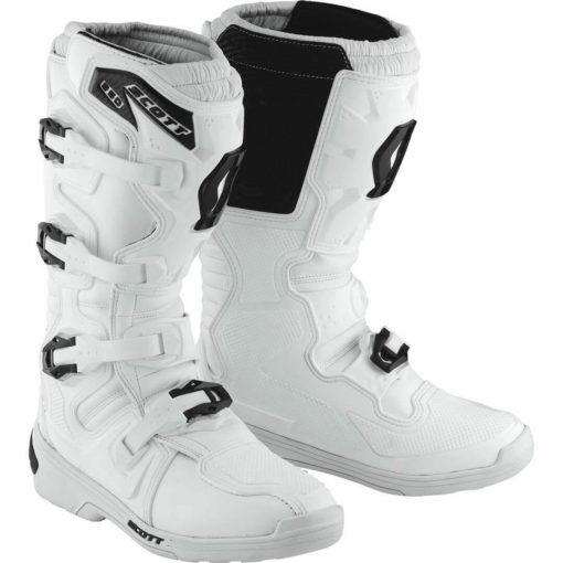 Scott 350 Motocross MX White boots